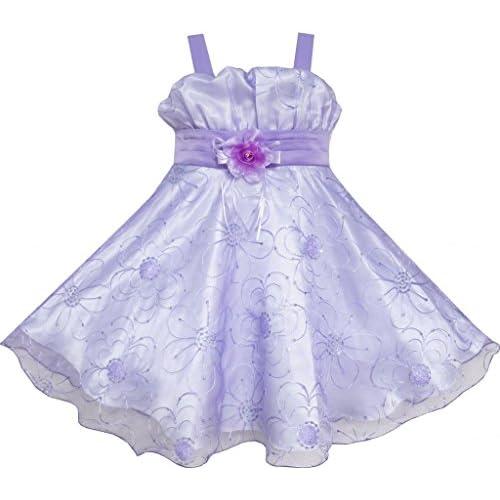 FC63 こどもドレス キッズドレス 結婚式 発表会 紫 タンク ダンス 115cm