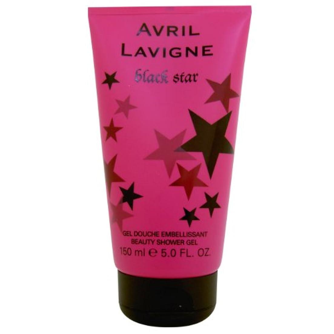 すなわちの配列苦しめるAvril Lavigne Black Star Shower Gel 150ml by Unknown by Unknown