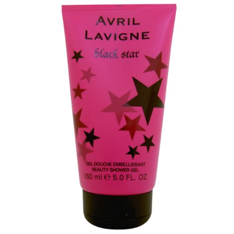 狂人年齢宇宙船Avril Lavigne Black Star Shower Gel 150ml by Unknown by Unknown