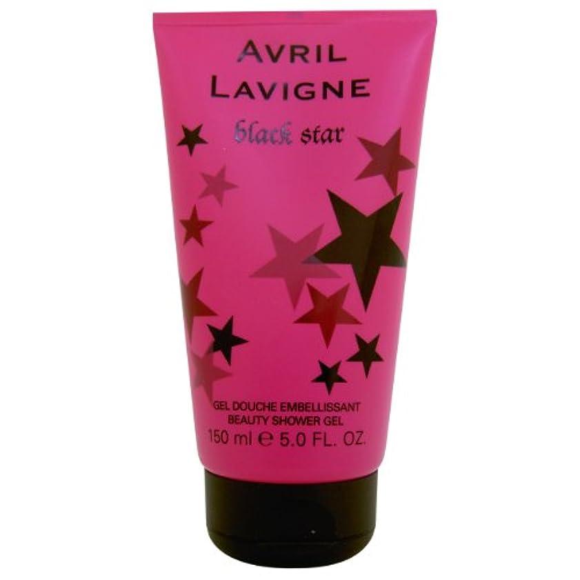 異議市区町村空虚Avril Lavigne Black Star Shower Gel 150ml by Unknown by Unknown