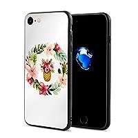 Epoch Ray 夏 ヴィンテージ 花輪 フラワーバスケット スマホケース IPhone8 ケース / IPhone7 ケース 携帯カバー アイフォン7/8カバー 滑り止め おしゃれ 軽量 薄型 人気