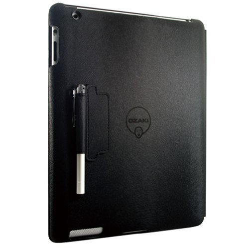 Ozaki IC509BK iCoat Notebook+ Folio for iPad 4 [並行輸入品]