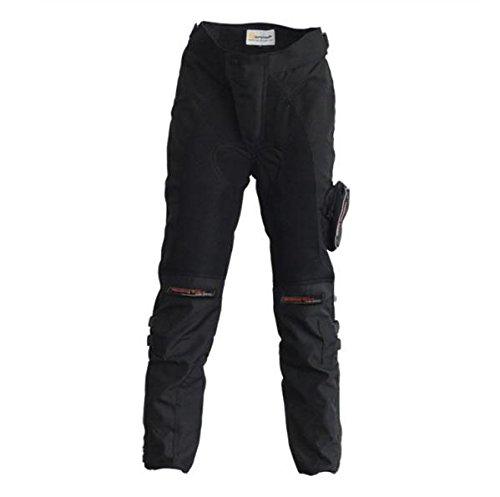 バイクズボンレーシングパンツ/ズボン バイクパンツ/ズボン ライダースパンツ バイクウェア プロテクター装備 オシャレ耐磨 Lサイズ