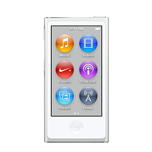 Apple iPod nano 16GB 第7世代 2015年モデル シルバー MKN22J/A