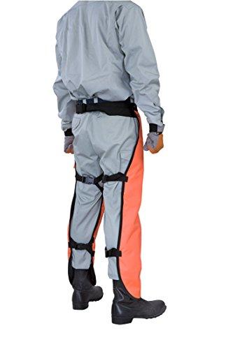 日立工機 チャップス 刈払機 草刈機 チェーンソー 作業用保護ズボン 0060-0022
