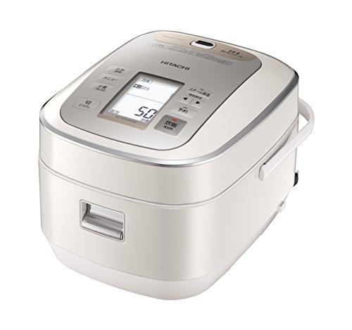 日立圧力スチームIH炊飯器パールホワイトRZ-YW3000MW