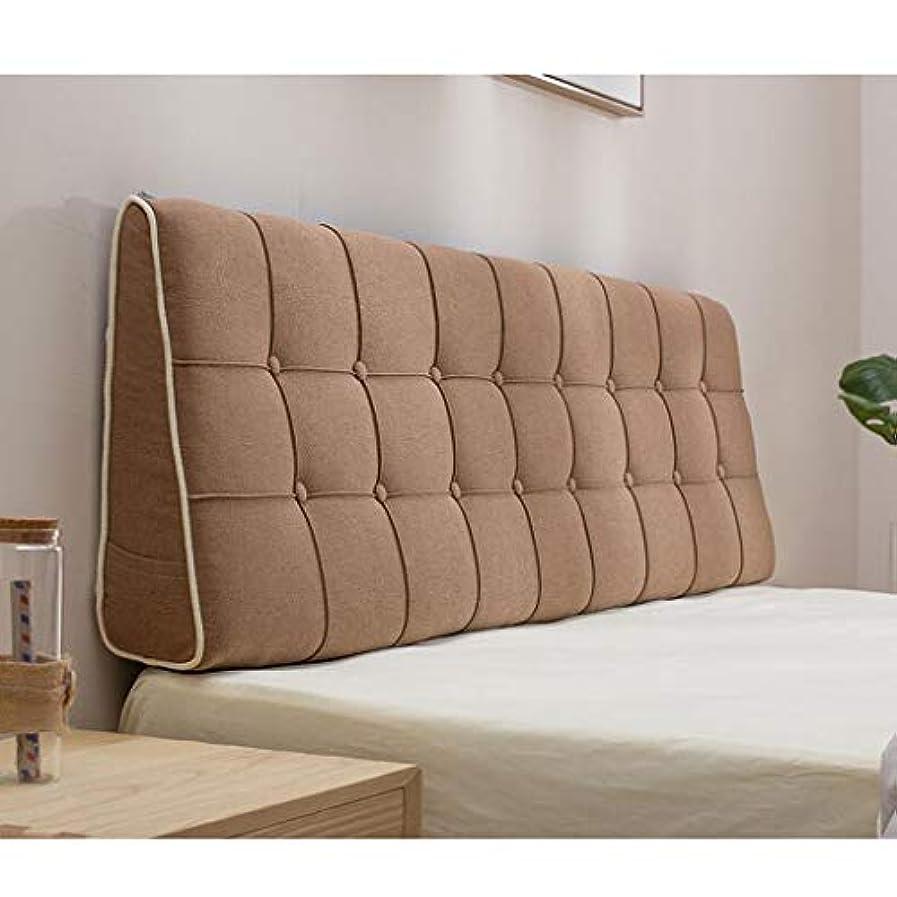溶けたぐったり免疫するベッドサイドのクッション生地は取り外し可能で洗える大きな背もたれ枕ベッド 大きな背もたれ Hyococ (Color : C, Size : 150*50cm)