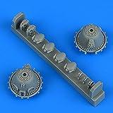 クイックブースト 1/48 A-26 インベーダー 減速機ケース 2個入り (ICM用) プラモデル用パーツ QIC48953
