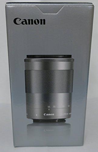 Canon望遠ズームレンズEF-M55-200mmF4.5-6.3ISSTM(シルバー)ミラーレス専用EF-M55-200ISSTMSL