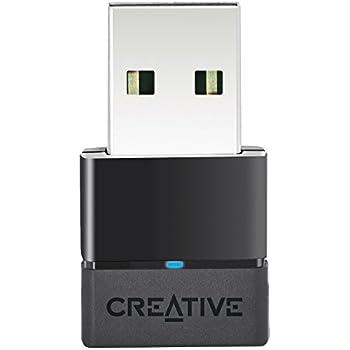 Creative Bluetooth USB オーディオ専用アダプター 低遅延 aptX Low Latency (aptX LL)対応 PC用ドライバーのインストール不要 PS4も接続後ペアリングですぐ使える BT-W2