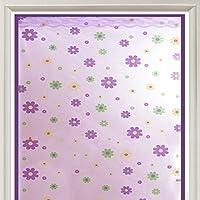 さ 防風 カーテン,冬 パーティション 暖かい 断熱材 映画 半透明 Velcro プラモデル カーテン-紫の 180x120cm(71x47inch)
