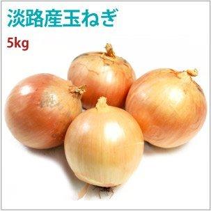 【淡路産有機玉ねぎ5kg】無農薬栽培。
