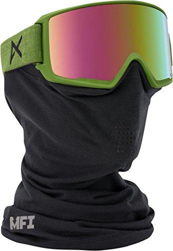 Anon 278010 masque de snowboard m3 iFM 15239100391 cobalt, vert, rose