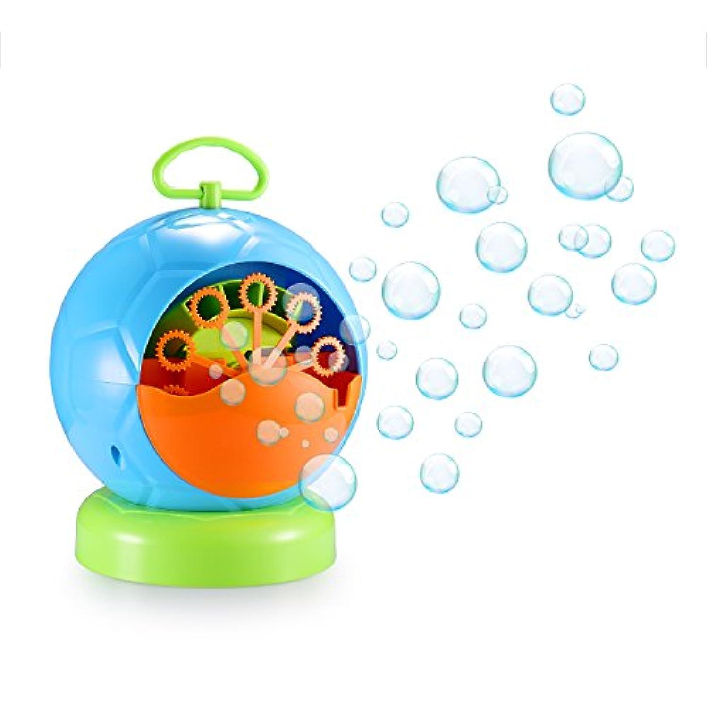 スーパーバブルマシーン 子供バブルマシン シャボン玉製造機 子供のおもちゃ しゃぼん玉発生機 電動 亲子活动 サッカー キャンプで遊ぼう! シャボンダマシーン 外遊び?プール?アウトドア