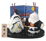 牛若丸と弁慶<br>(陶器/五月人形)