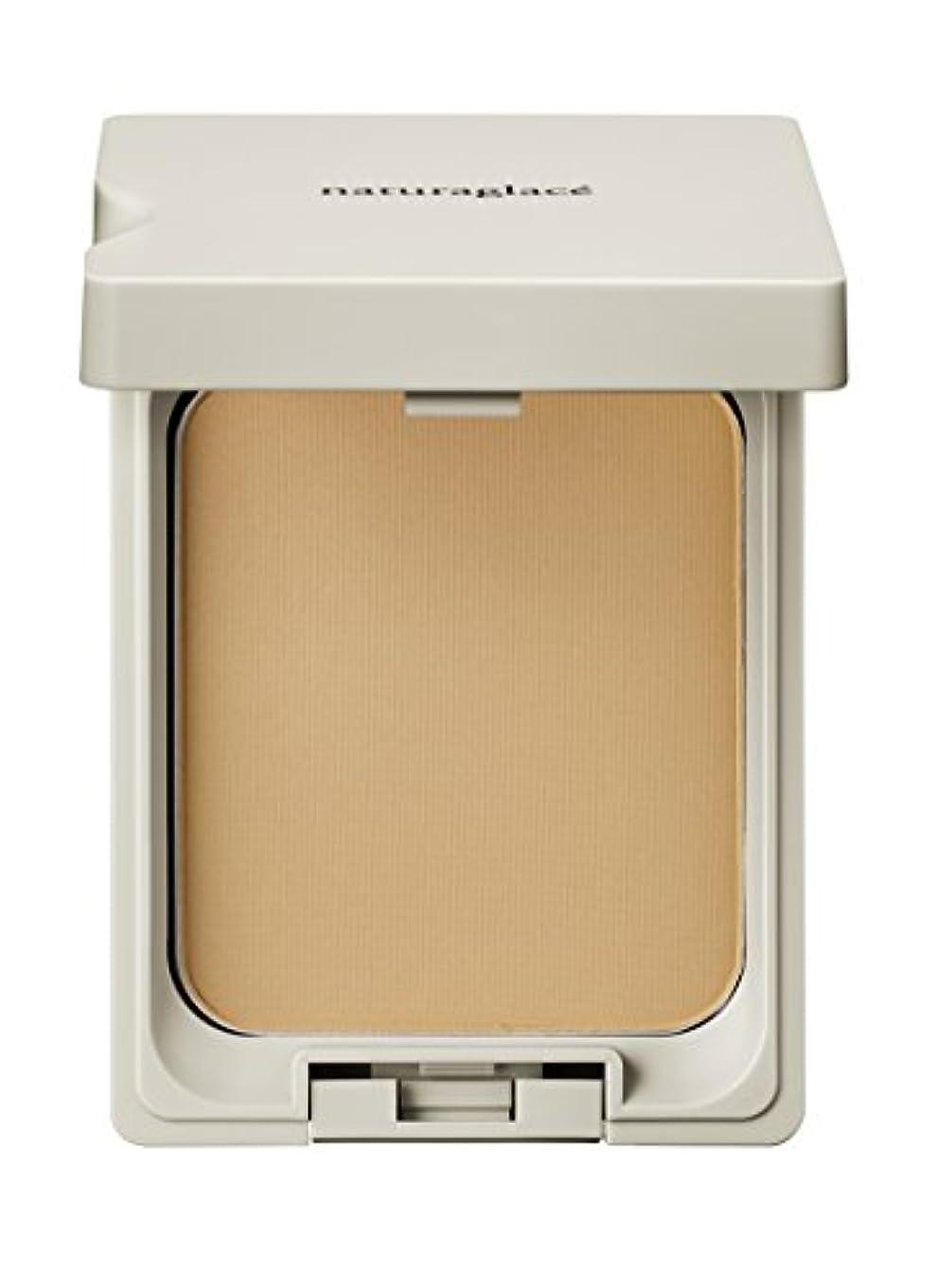 ナチュラグラッセ クリアパウダー ファンデーション OC2 (やや黄みよりの自然な肌色) 11g SPF40 PA++++ パフ付き