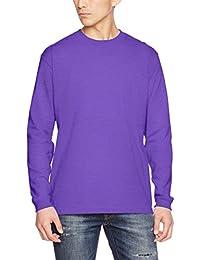 (ユナイテッドアスレ)UnitedAthle 5.6オンス ロングスリーブ Tシャツ(1.6インチリブ) 501101 [メンズ]