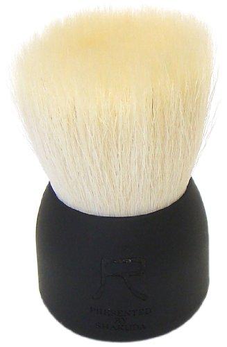 熊野筆 尺 PRESENTED BY SHAKUDA 洗顔ブラシ(黒)