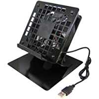 タイムリー 大型 タブレット/iPad Pro/スイッチ 対応 クーラースタンド [ BIGFAN120U (120mm角USBファン) 搭載 ] BIGFAN120U-STANDY