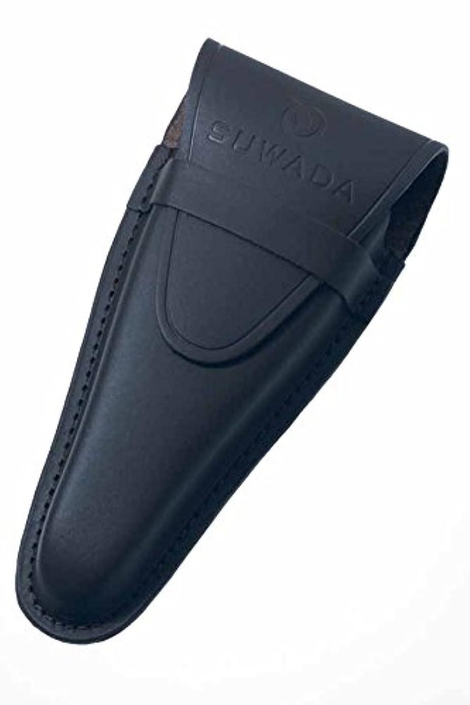 偶然の書誌トライアスロンSUWADA クラシック 皮ケース Lサイズ 黒