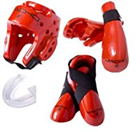 Macho Dyna Sparring Gear Set レッド