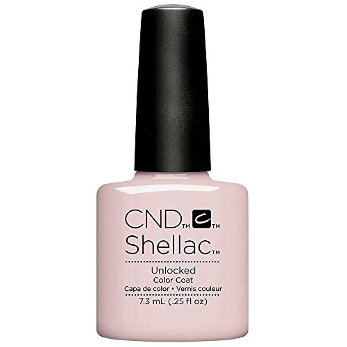 イノセンスバドミントン封建CND Shellac - The Nude Collection 2017 - Unlocked - 7.3 mL / 0.25 oz