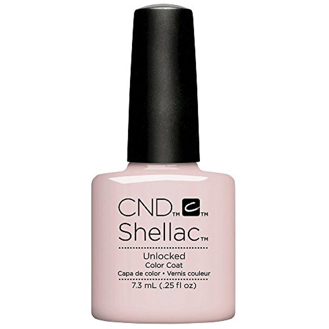 簡単な悪因子しおれたCND Shellac - The Nude Collection 2017 - Unlocked - 7.3 mL / 0.25 oz