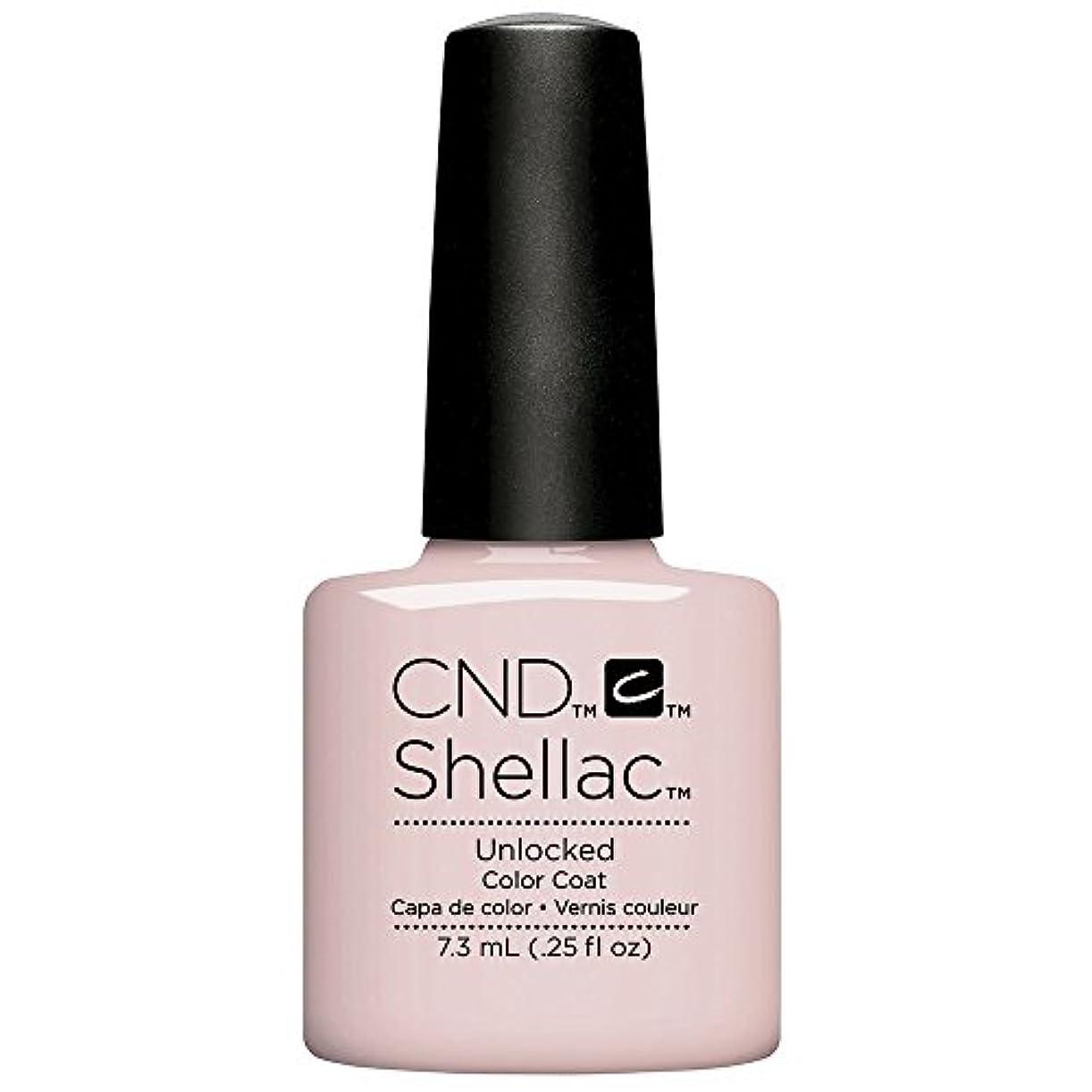 既に文法メインCND Shellac - The Nude Collection 2017 - Unlocked - 7.3 mL / 0.25 oz