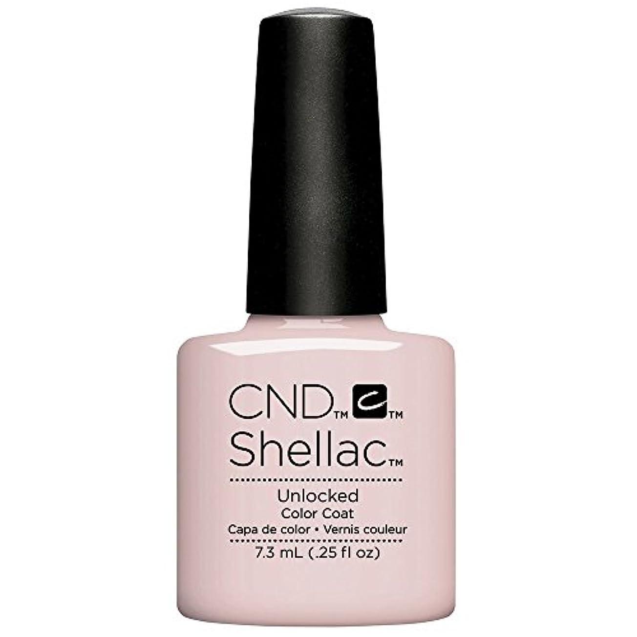 温かい頼む常にCND Shellac - The Nude Collection 2017 - Unlocked - 7.3 mL / 0.25 oz