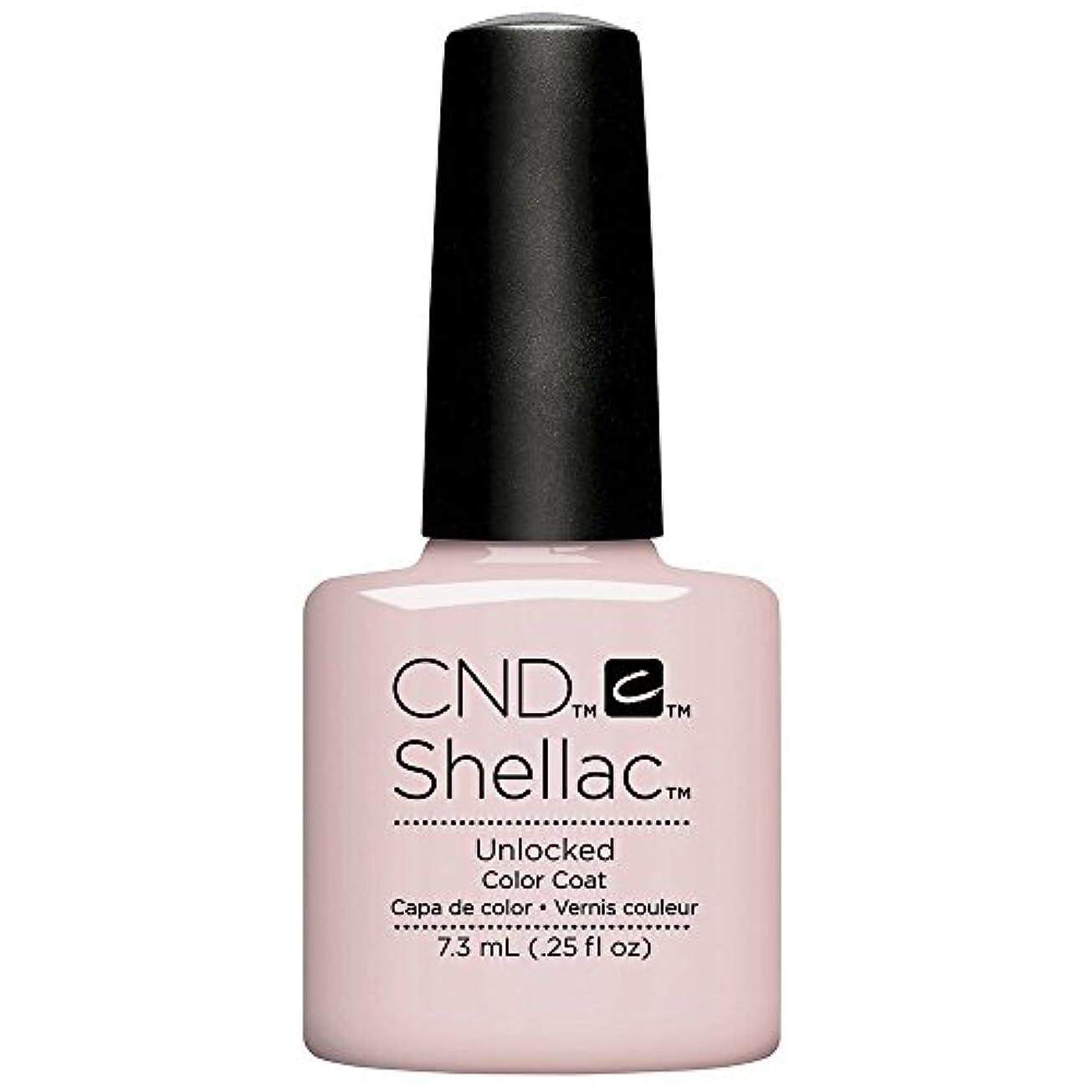 思慮のない読み書きのできない古いCND Shellac - The Nude Collection 2017 - Unlocked - 7.3 mL / 0.25 oz