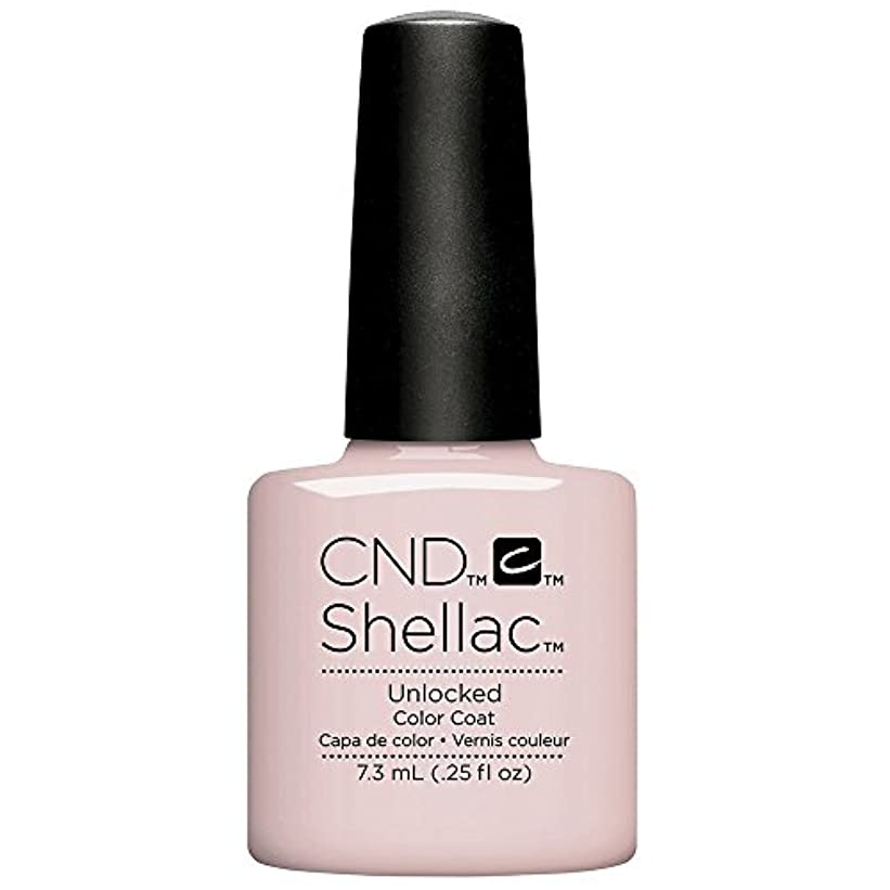 信頼性のある受粉する無意味CND Shellac - The Nude Collection 2017 - Unlocked - 7.3 mL / 0.25 oz