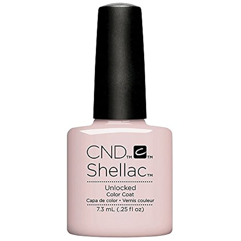 若い天井脅かすCND Shellac - The Nude Collection 2017 - Unlocked - 7.3 mL / 0.25 oz