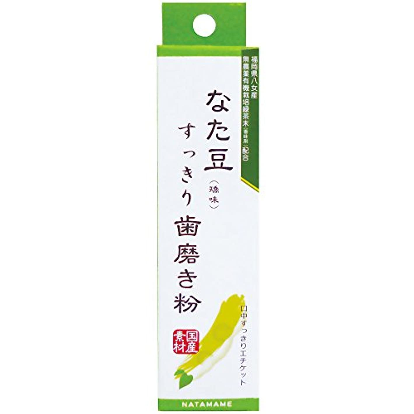 勇気寝るおとこなた豆すっきり歯磨き粉 30g
