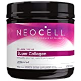 NeoCell Super Collagen Powder, 6,600mg Types 1 & 3 Grass-Fed Collagen, Paleo Friendly, Gluten Free, Soy Free, Unflavored - 14 Ounces (Package May Vary)