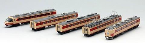 TOMIX Nゲージ 485系 雷鳥 基本A5両セット 92333 鉄道模型...