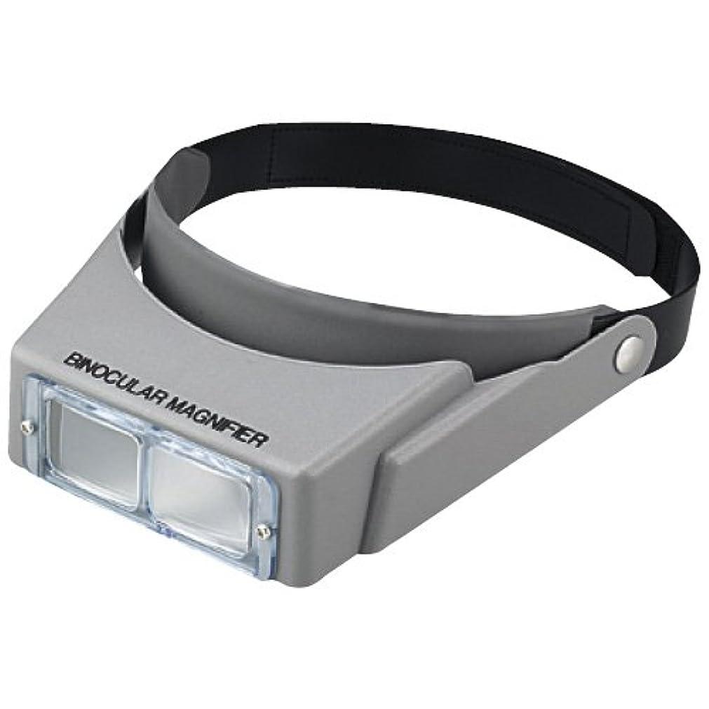 バックグラウンド恵み借りる双眼ヘッドルーペ BM-115W 双眼ルーペ 拡大鏡