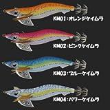 ヤマシタ(YAMASHITA) ルアー エギ エギ王 K HF 3.5号 KM01 OKM  オレンジケイムラ