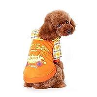 2016ペット服アパレルペットの子犬犬パーカー夏の服S-2XLサイズ:ゴールド、M
