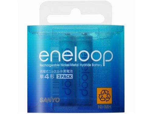 SANYO eneloop ニッケル水素電池 単4形 2本パック HR-4UTG-2BP