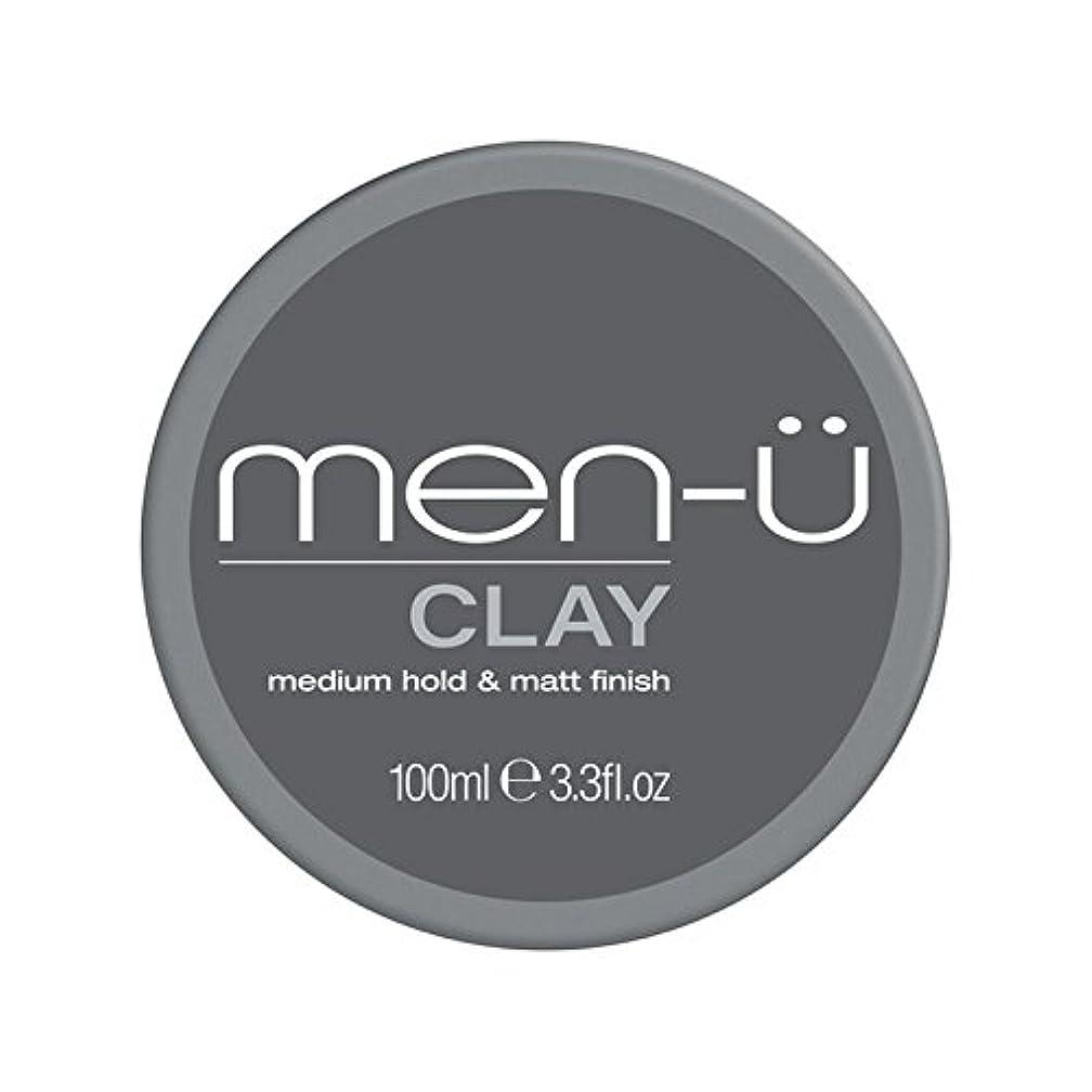 論理的に猫背男性-粘土(100ミリリットル) x4 - Men-? Clay (100ml) (Pack of 4) [並行輸入品]
