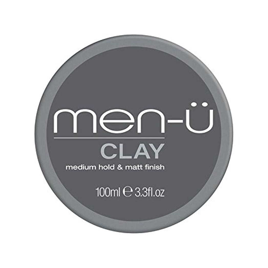 メダル再生的メナジェリー男性-粘土(100ミリリットル) x4 - Men-? Clay (100ml) (Pack of 4) [並行輸入品]