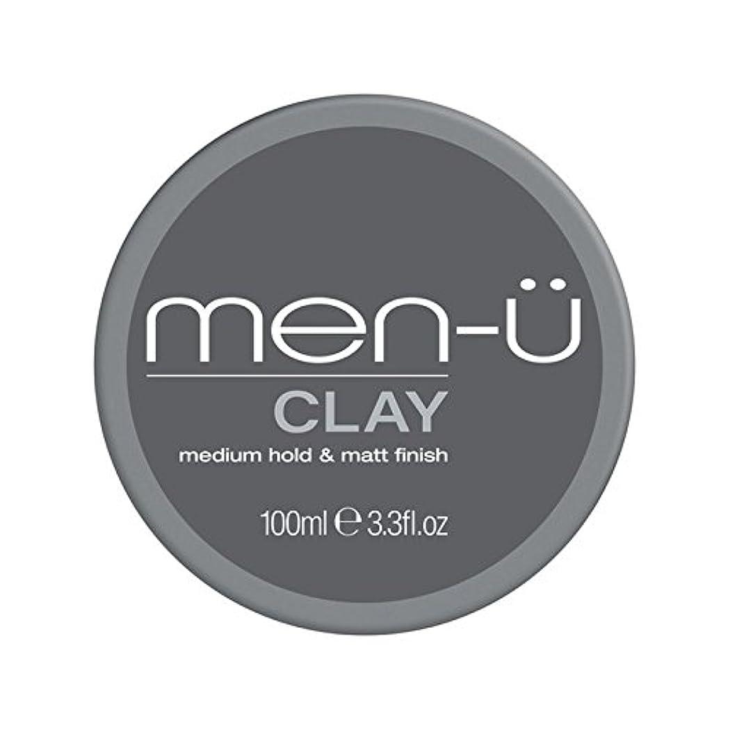 マイク金銭的キャンパス男性-粘土(100ミリリットル) x2 - Men-? Clay (100ml) (Pack of 2) [並行輸入品]