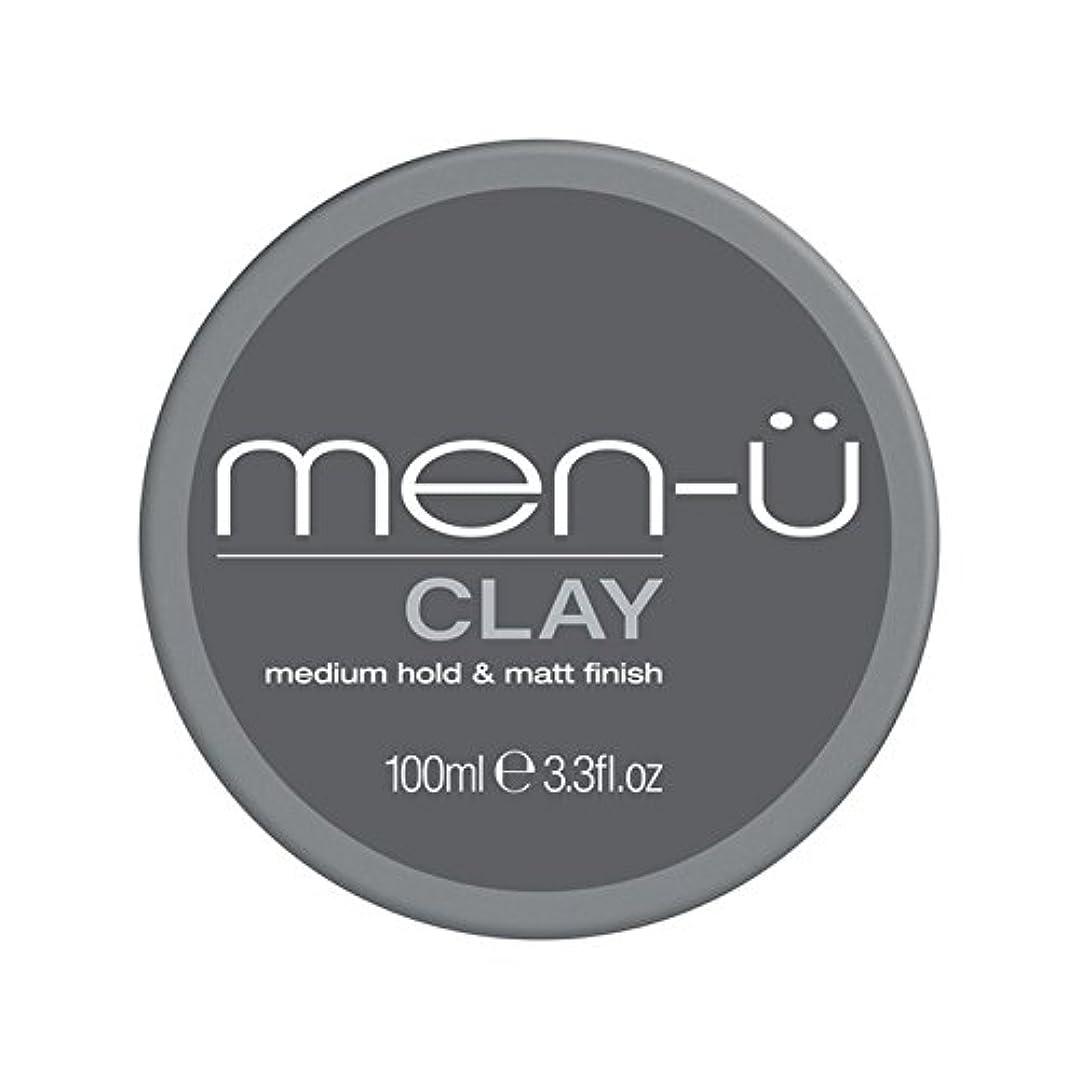 評価するフォーク過言男性-粘土(100ミリリットル) x2 - Men-? Clay (100ml) (Pack of 2) [並行輸入品]