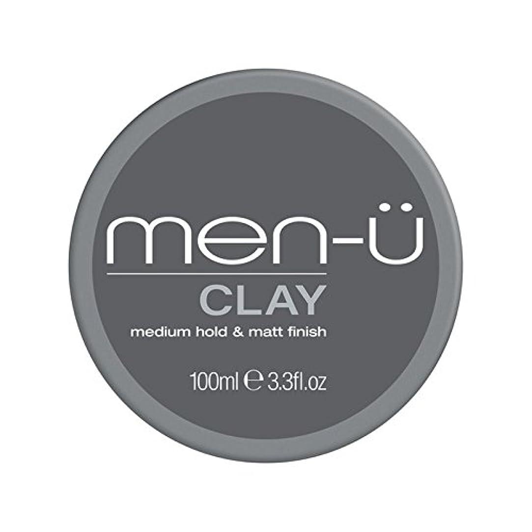 仲間高度温室男性-粘土(100ミリリットル) x4 - Men-? Clay (100ml) (Pack of 4) [並行輸入品]