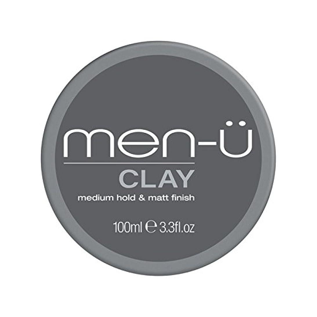 日郊外慈善Men-? Clay (100ml) (Pack of 6) - 男性-粘土(100ミリリットル) x6 [並行輸入品]