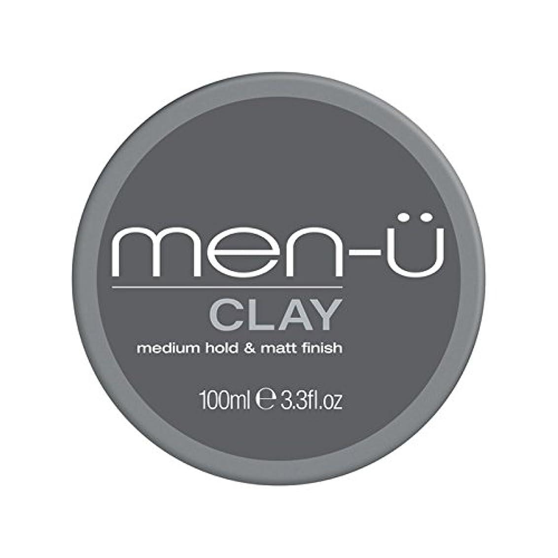 入射自動株式会社Men-? Clay (100ml) - 男性-粘土(100ミリリットル) [並行輸入品]