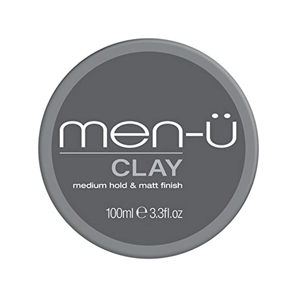 本土十分な直立男性-粘土(100ミリリットル) x2 - Men-? Clay (100ml) (Pack of 2) [並行輸入品]