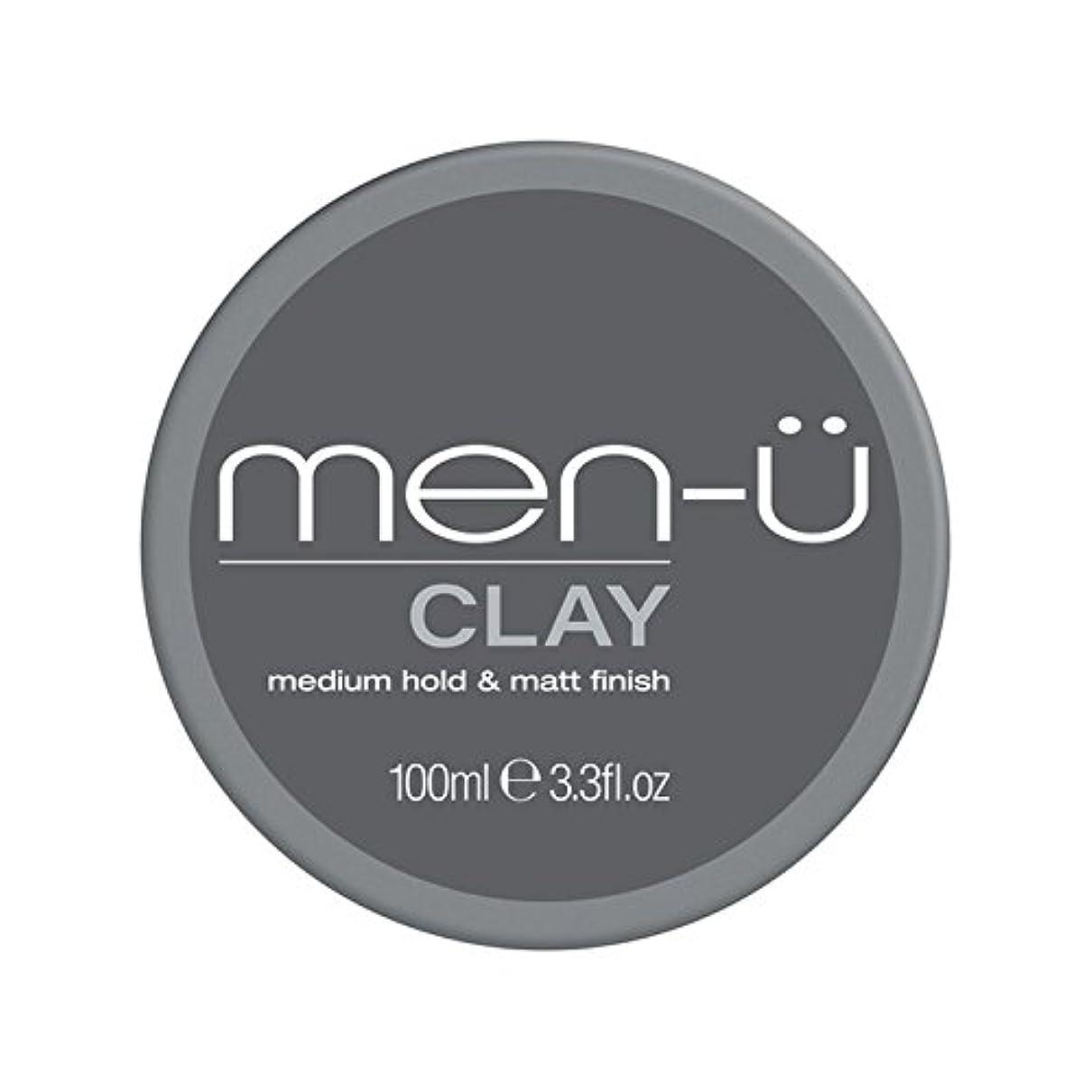 非難する困難小学生Men-? Clay (100ml) (Pack of 6) - 男性-粘土(100ミリリットル) x6 [並行輸入品]
