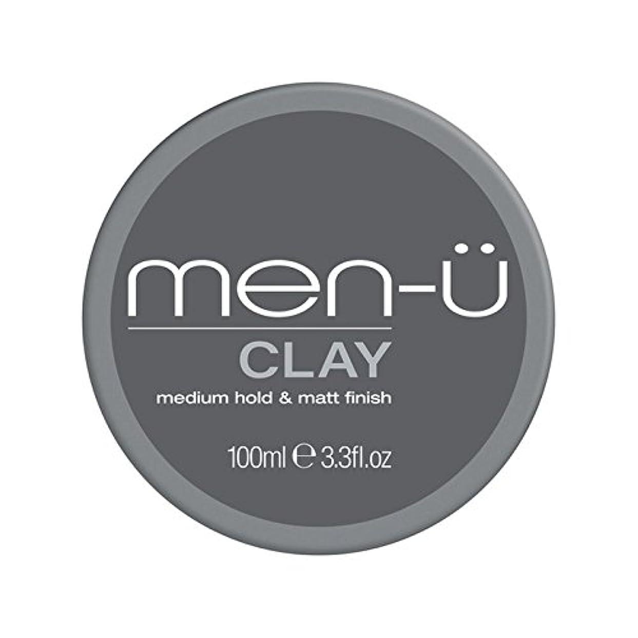 男性-粘土(100ミリリットル) x4 - Men-? Clay (100ml) (Pack of 4) [並行輸入品]