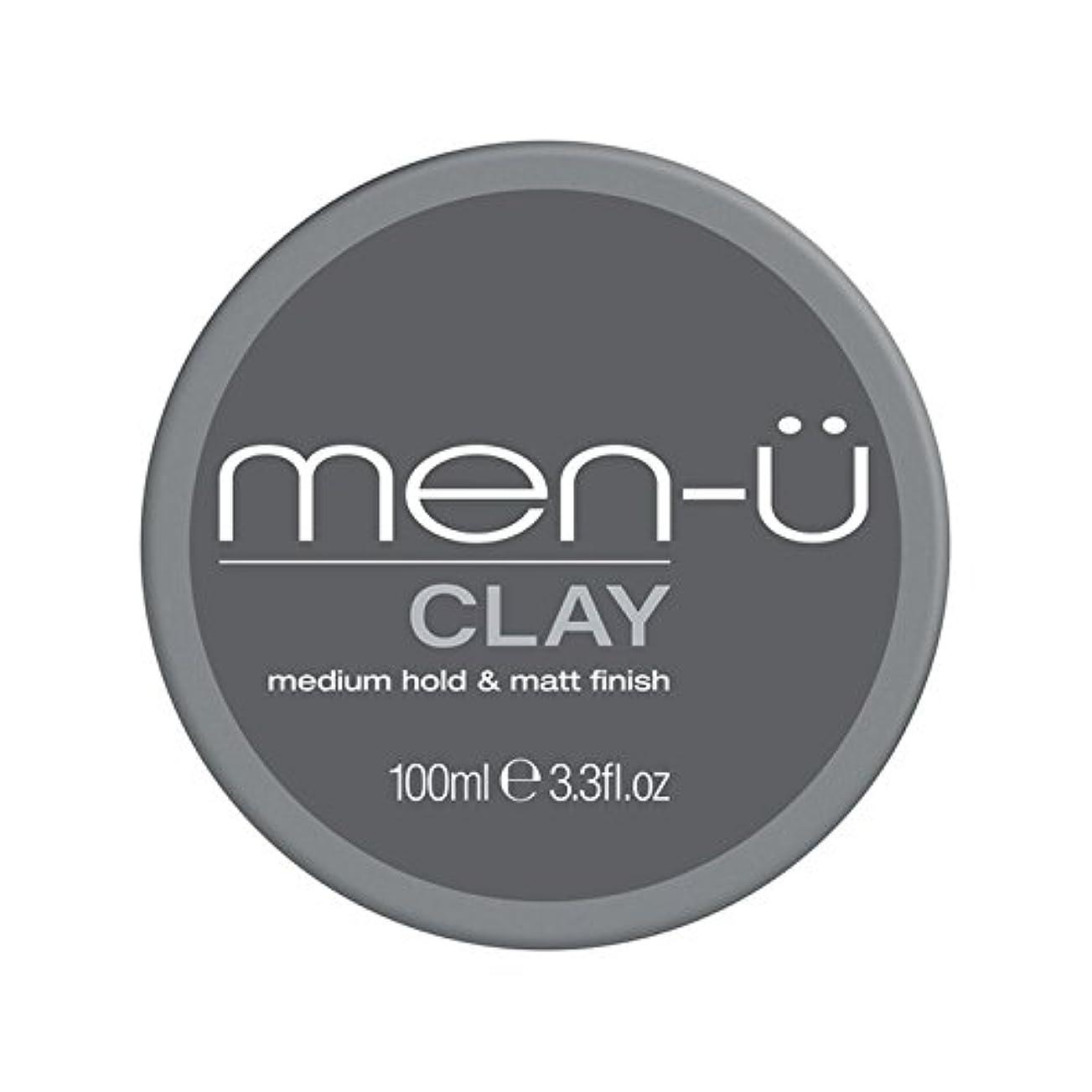 バンカーキャメルである男性-粘土(100ミリリットル) x4 - Men-? Clay (100ml) (Pack of 4) [並行輸入品]